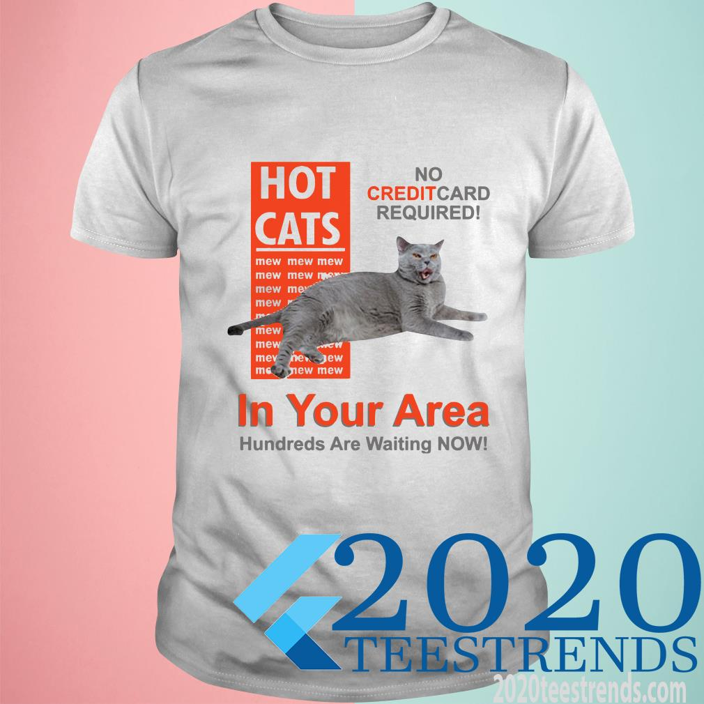 Hot Cats In Your Area T-Shirt