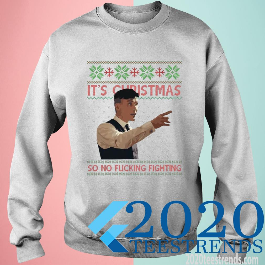 Peaky Blinders It's Christmas So No Fucking Fighting Ugly Christmas Sweater
