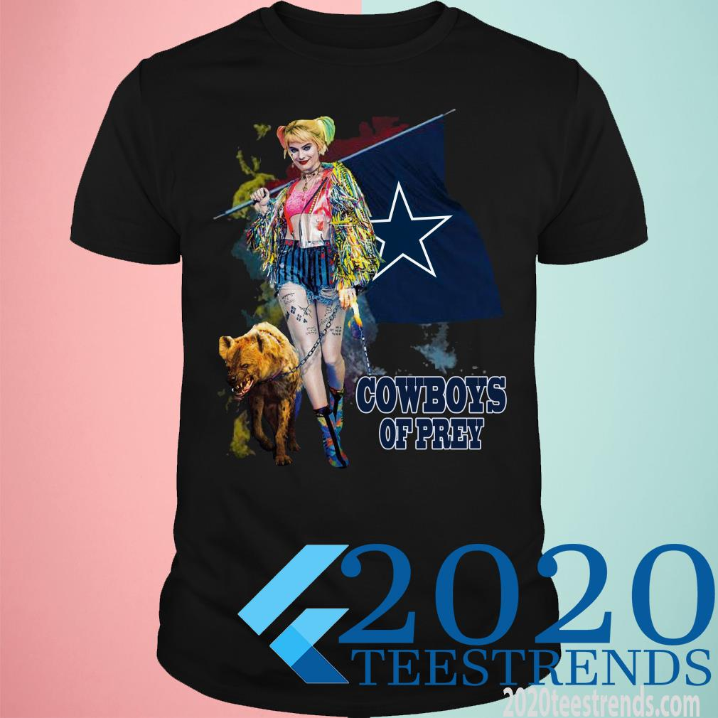 Harley Quinn Dallas Cowboys Of Prey Shirt