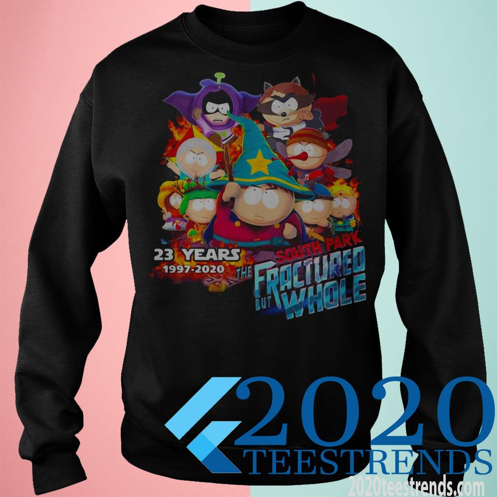 23 years 1997-2020 South Park the Fractured But Whole Shirt
