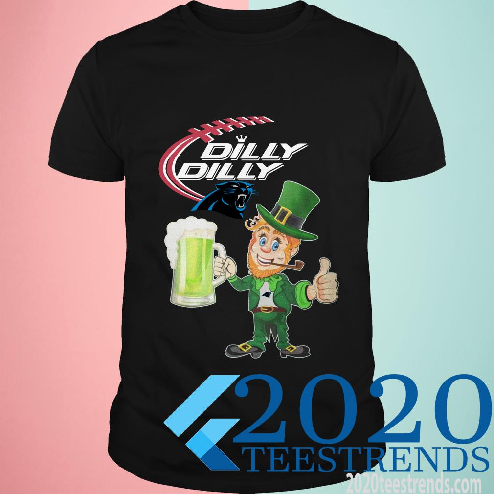 Panther Dilly Dilly St Patrick's Day Shirt