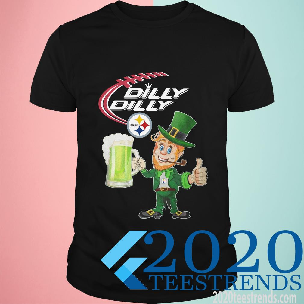 Steelers Dilly Dilly St Patrick's Day Shirt