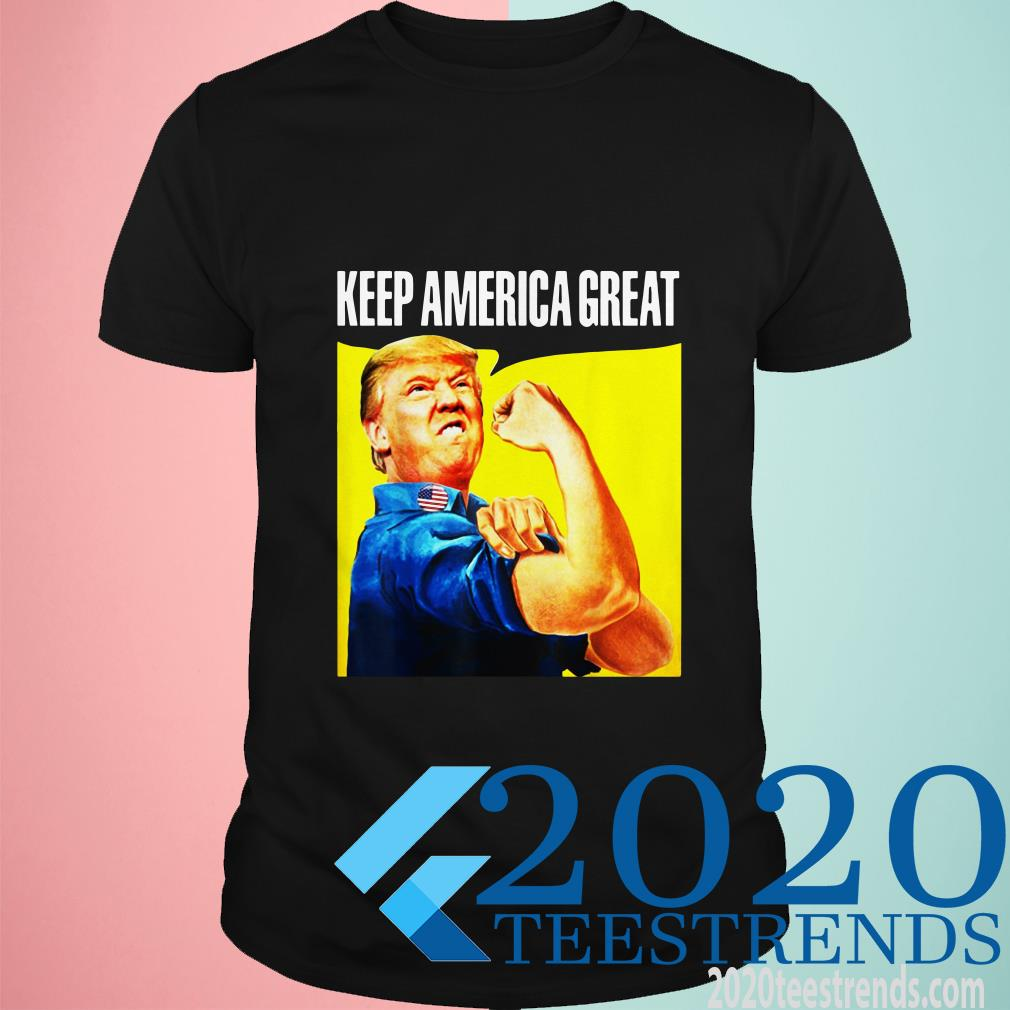 Trump Keep America Great We Can Do It Shirt