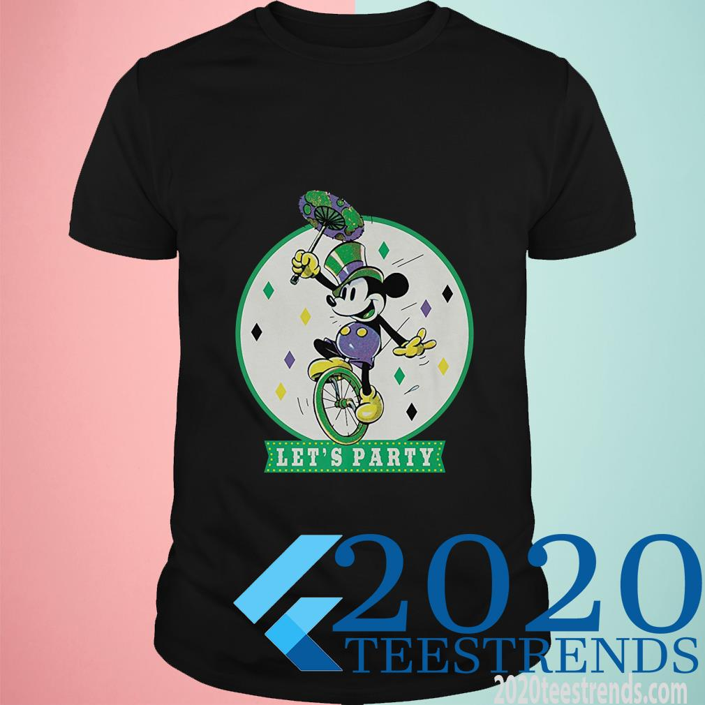 Mickey Let's Party Shirt