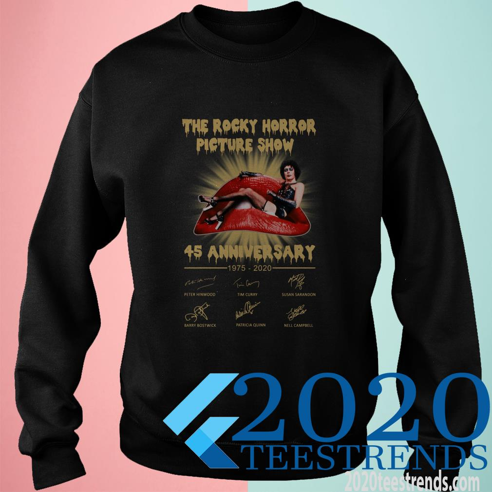 Thank You For The Memories The Rocky Horror Picture Show Shirt