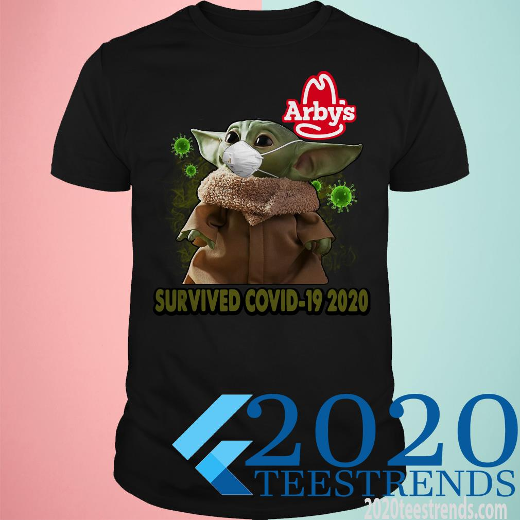 Baby Yoda Arbys Survived Covid 19 2020 Shirt