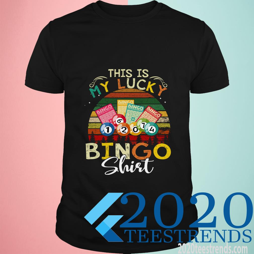 This Is My Lucky Bingo Shirt