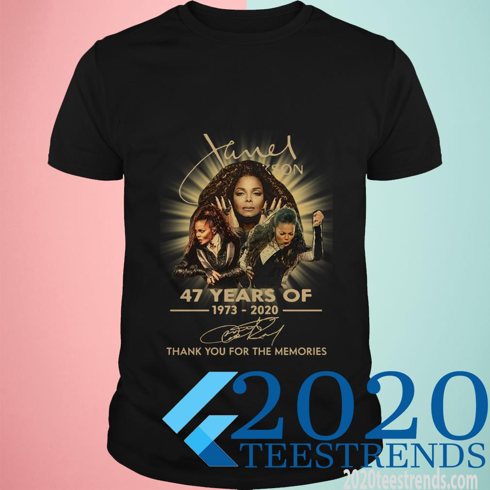 Anniversary Thank You For The Memories Janet Jacksons Shirt