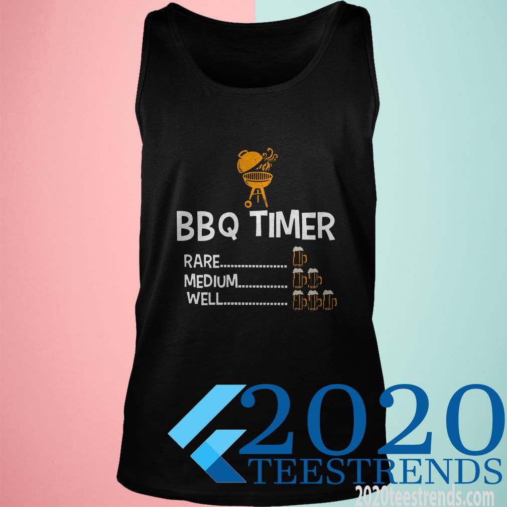 BBQ Timer Rare Medium Well Shirt