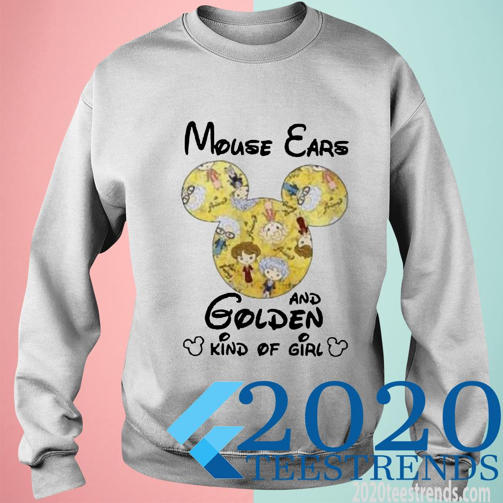[Sale Off] Mouse Ears And Golden Kind Of Girl T-Shirt