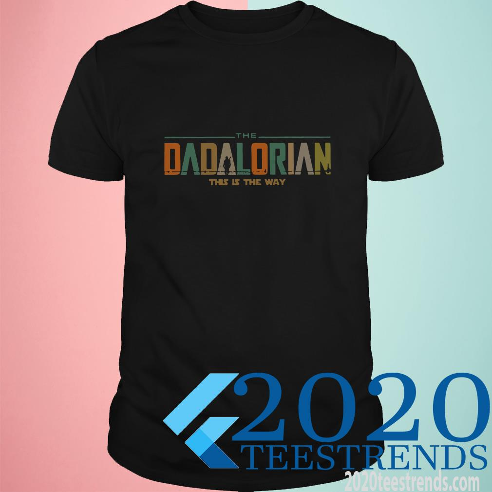 The Dadalorian This Is The Way Vintage T-Shirt