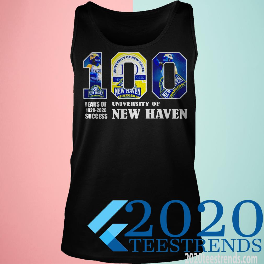 University Of New Haven 100 Year Of 1920 2020 ShirtUniversity Of New Haven 100 Year Of 1920 2020 Shirt