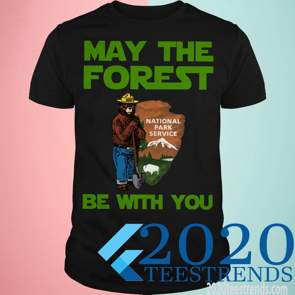 May The Forest Be With You Farmer Bear Shirt