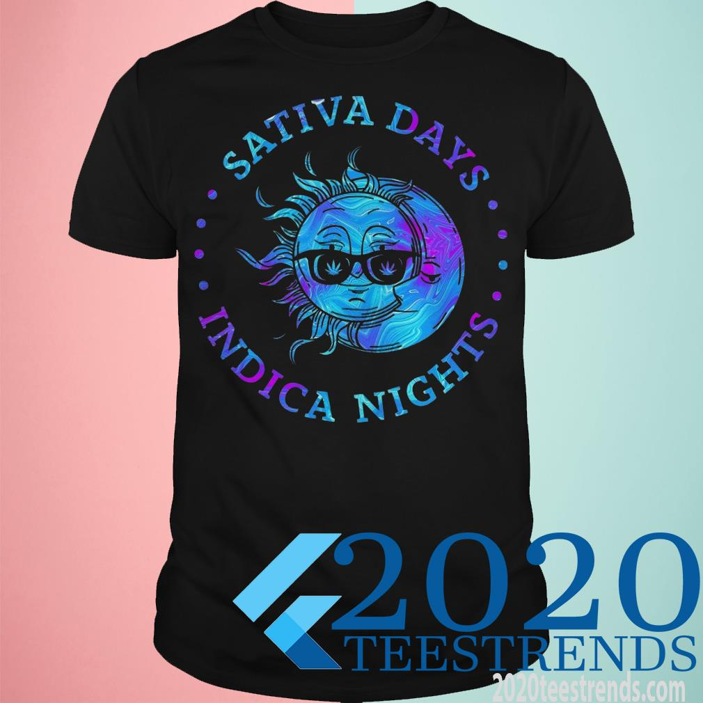 Sativa Day Indica Nights Shirt