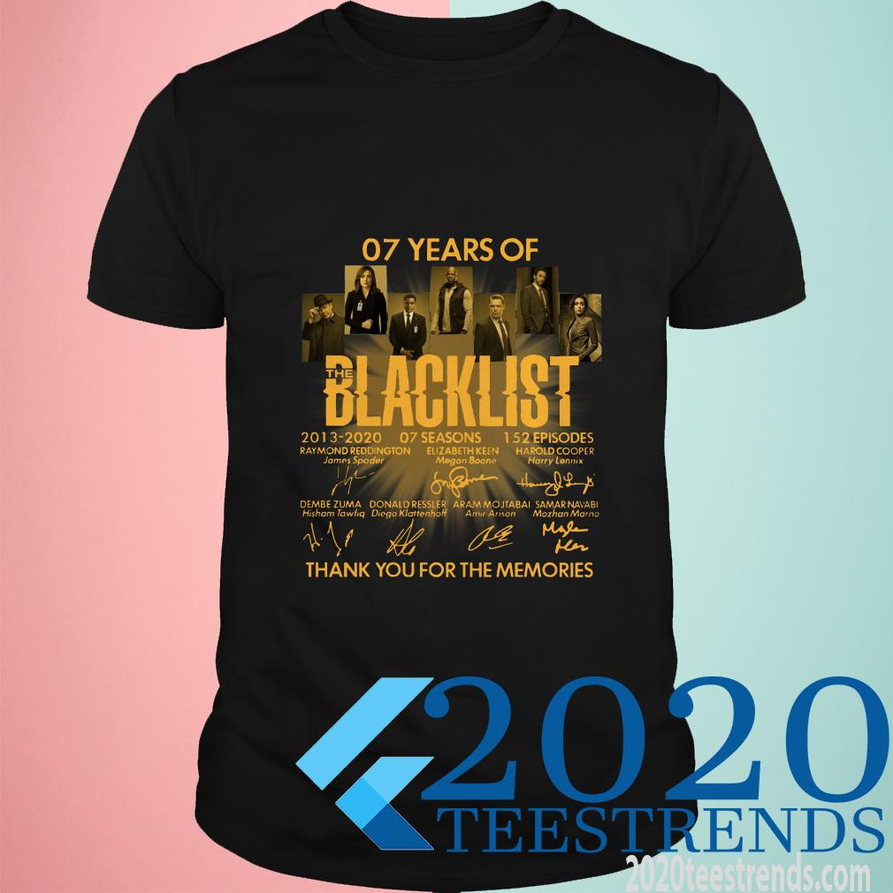 07 Years Of The Blacklist T-Shirt