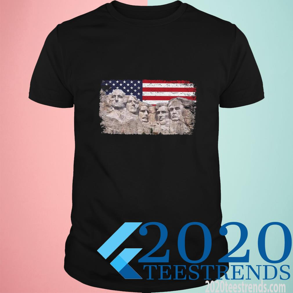 45th Added To Rushmore Mount T-Shirt