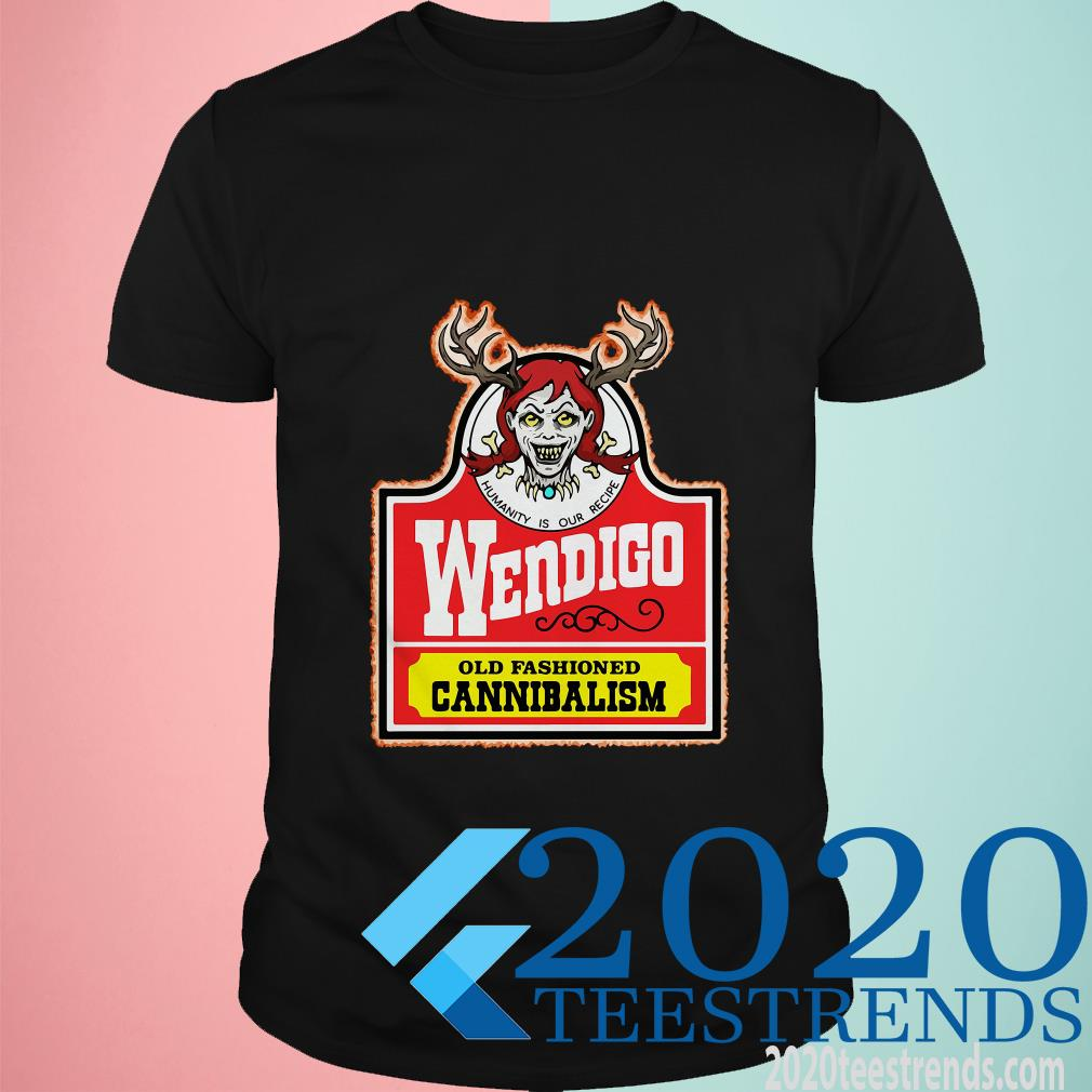Official Wendigo Old Fashioned Cannibalism T-Shirt