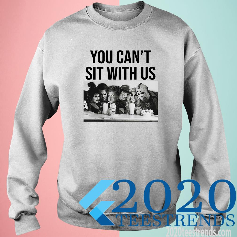 You Can't Sit With Us Hocus Pocus And Horror Characters Friends Sweater