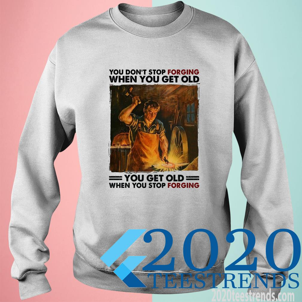 You Don't Stop Forgiving When You Get Old Sweater