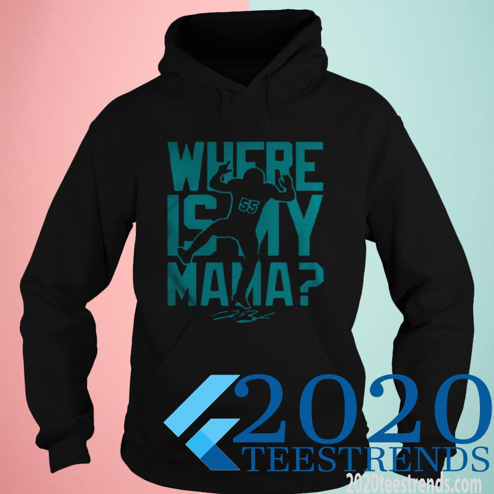 Official Jerome Baker Jr Where Is My Mama Hoodie