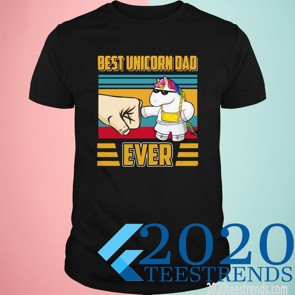 Best Unicorn Dad Ever Vintage Shirt