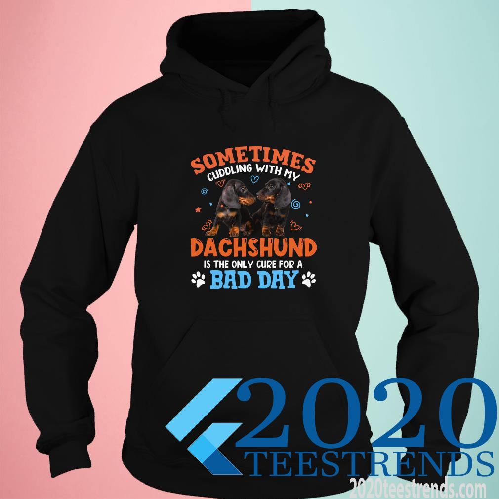 Sometimes Cuddling With My Dachshund Is The Only Cure For A Bad Day Hoodie