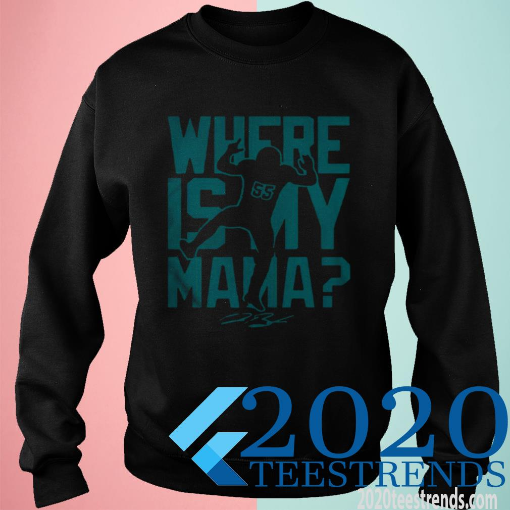 Official Jerome Baker Jr Where Is My Mama Sweatshirt