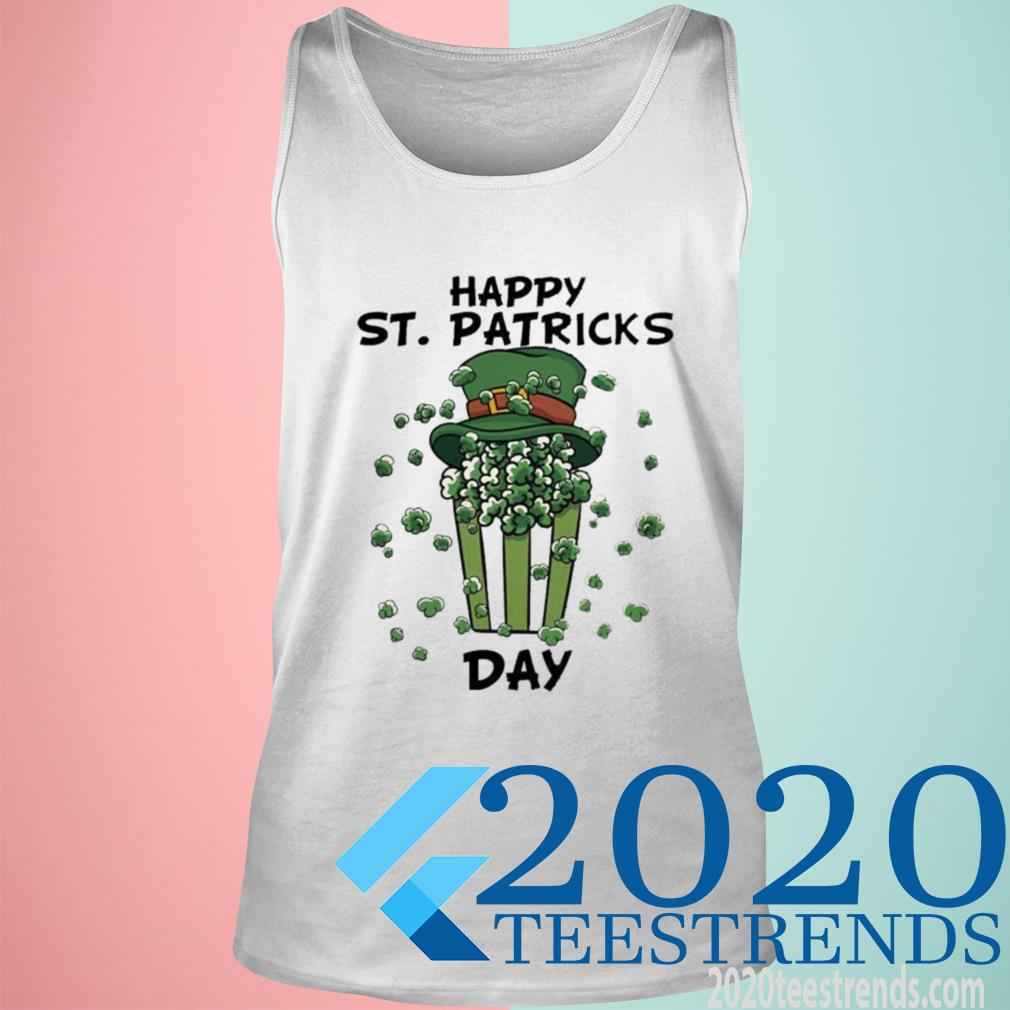 Official Happy St Patricks Day Tanktop